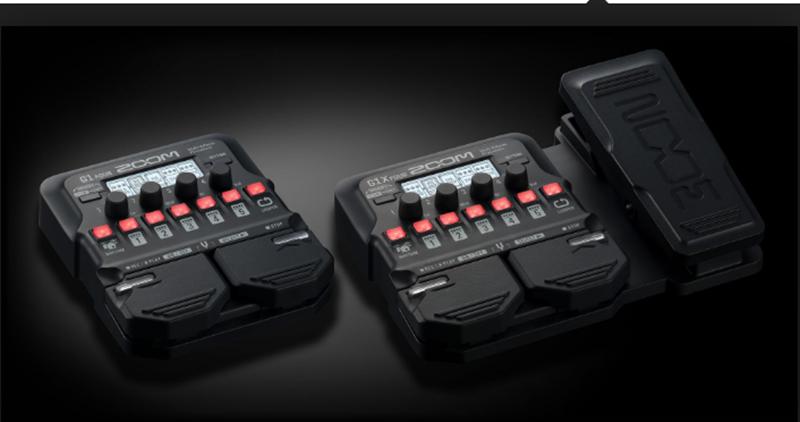 guitar effects zoom g1X four tự động lưu trữ