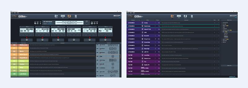 multi effects g5n đơn giản, dễ sử dụng