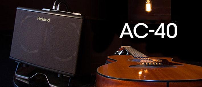 Amplifier Roland AC-40lý tưởng cho những buổi biểu diễn âm nhạc