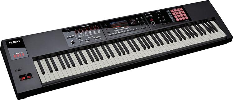 Roland FA-08 được thiết kế để giúp người chơi bắt được cảm hứng và sáng tạo