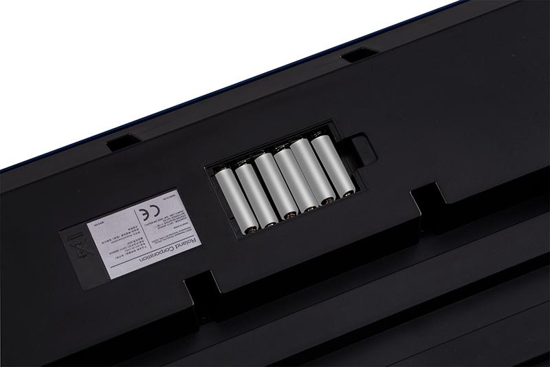 đàn organ roland e-x30 có khả năng hoạt động bằng pin