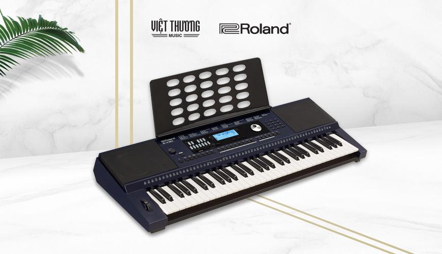 đàn organ roland e-x30 có thiết kế linh hoạt