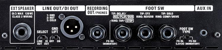 Roland Bass CUBE-120XL thiết kế tùy chỉnh
