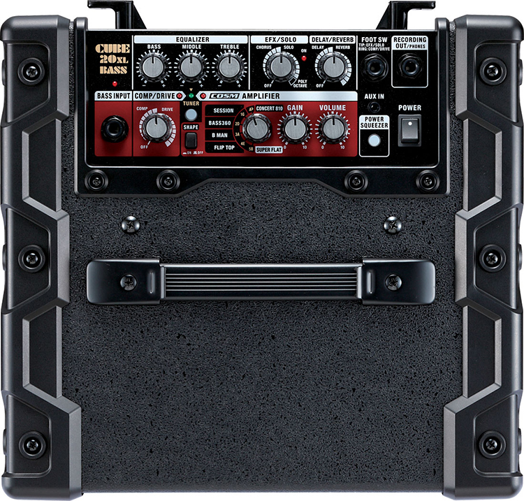 Âm thanh của Roland Bass CUBE-20XL