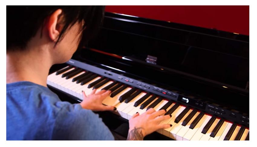 đàn piano điện roland hp-504 có thiết kế sang trọng