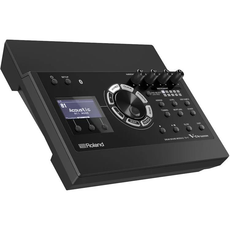 Roland TD-17KVX mang đến trải nghiệm trống cao cấp nhờ công nghệ Prismatic Sound Modelingđược thừa kế từ phiên bản đẳng cấpTD-50 hàng đầu