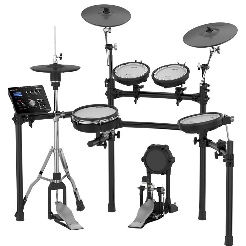 Roland TD-25K V-Drums +MDS-9SC được trang bị với công nghệ âm thanh tiến tiến