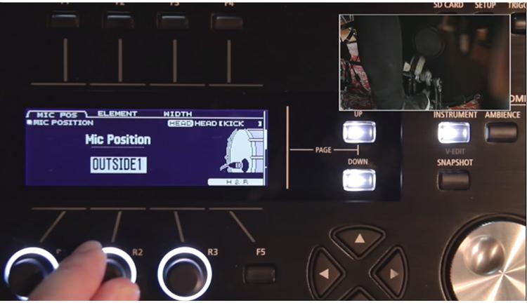 Roland TD-50 được tích hợp nhiều tính nănghỗ trợ tuỳ chỉnh âm thanh chuyên sâu