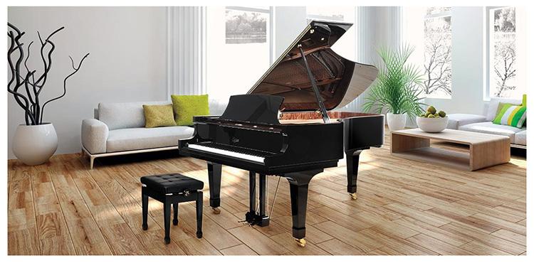 Đàn Piano Boston nổi bật với thiết kế chuyên nghiệp