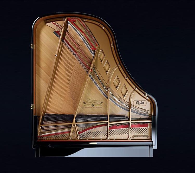 Thiết kế Soundboard của Boston GP-193 PE lớn, tạo ra âm thanh lớn
