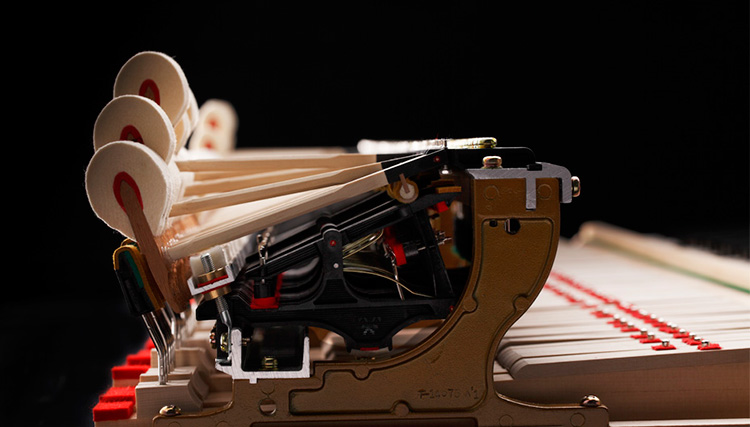 các dòng GX Series sử dụng búa đàn piano cao cấp