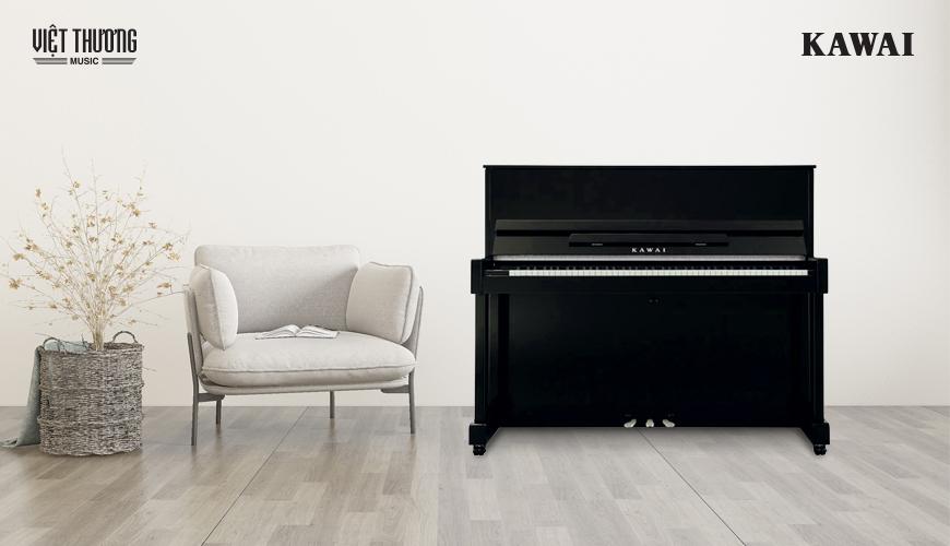 Đàn Piano Kawai ND-21 sở hữu thiết kế sang trọng tôn lên vẻ đẹp cho mọi không gian