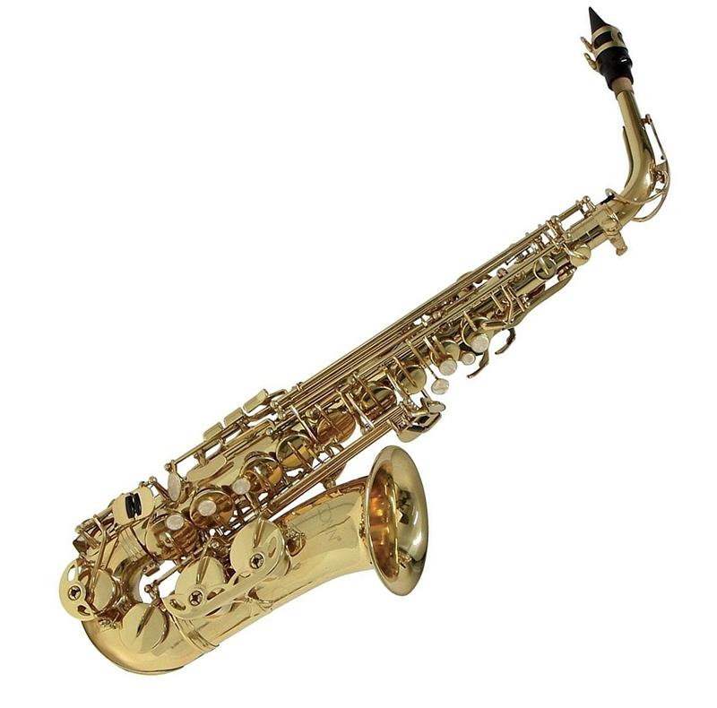 Kèn Saxophones Selmer AS650 có thiết kế bắt mắt, màu vàng đồng sang trọng